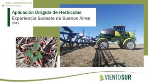 Aplicaciones Dirigidas, Experiencia Sudeste de Buenos Aires 2019